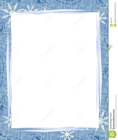 winter border writing paper writing paper with winter borders stonewall services