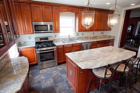 Cherry Kitchen Cabinets With Oak 63 Best Images About Granite Wow Factor On Pinterest