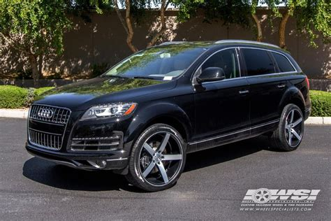 felger audi q7 2017 2014 audi q7 with vossen wheels by wheel specialists inc