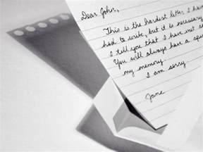 free breakup letters