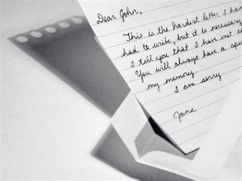 Free Breakup Letters   LoveToKnow