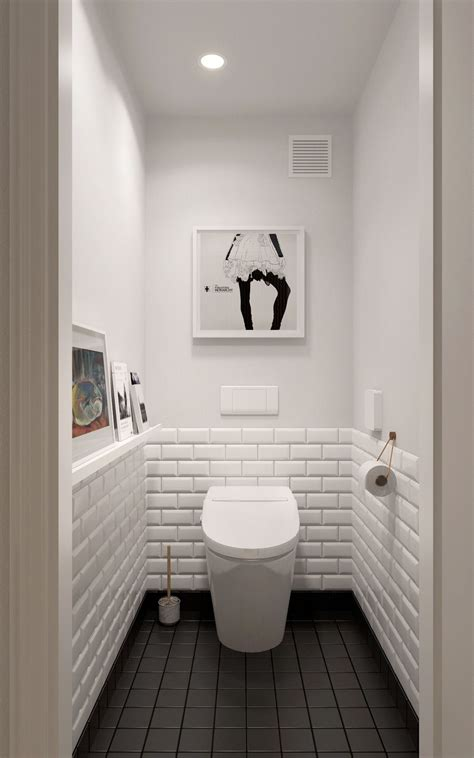 black and white bathroom pictures a midcentury inspired apartment with scandinavian tendencies