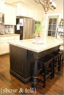 kitchen island redo islands remodel white farmhouse kitchens cottage decor and ideas