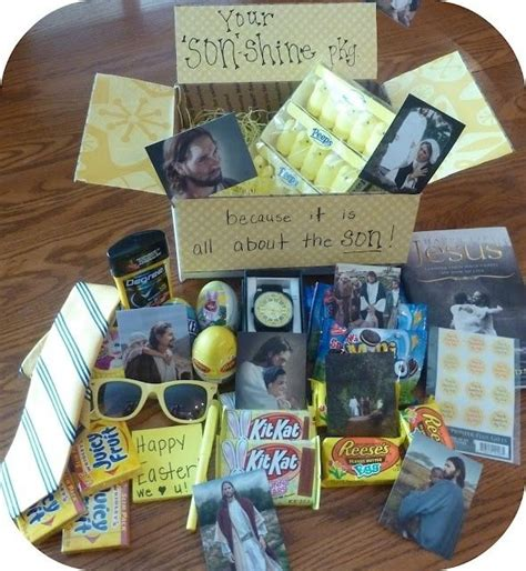 christmas care packages for lds missionaries easter care package maybe in their favorite color i the idea of the
