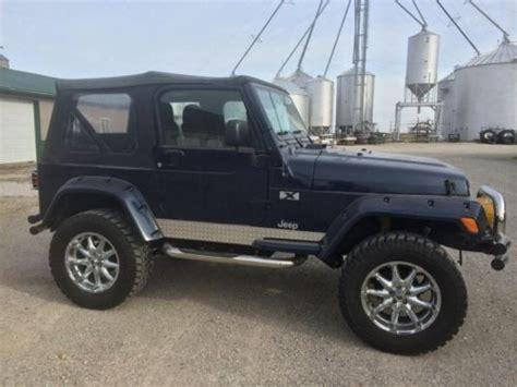 2006 Jeep Wrangler Soft Top Buy Used 2006 Jeep Wrangler 4 X 4 Soft Top 4 Quot Lift In