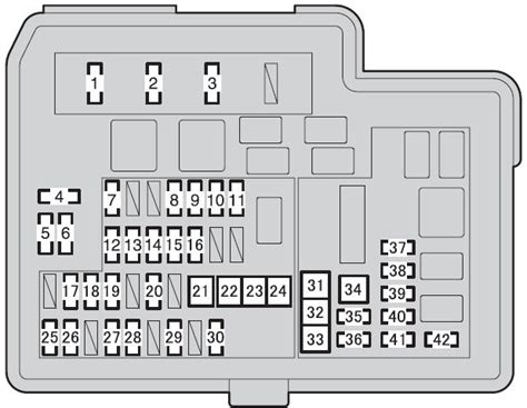 fuse box in prius 2012 for low beams 36 wiring diagram