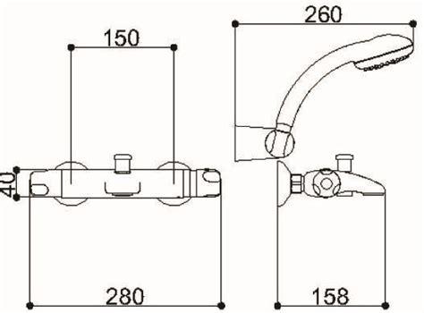 low pressure bath shower mixer marflow premiertech thermostatic bath shower mixer wall