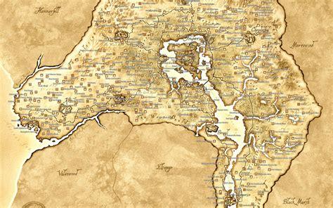elder scrolls map the elder scrolls map wallpaper 1205552