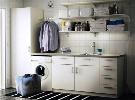 pass double duty laundry room designs for small spaces am 233 nager sa buanderie en fonction de son espace de vie