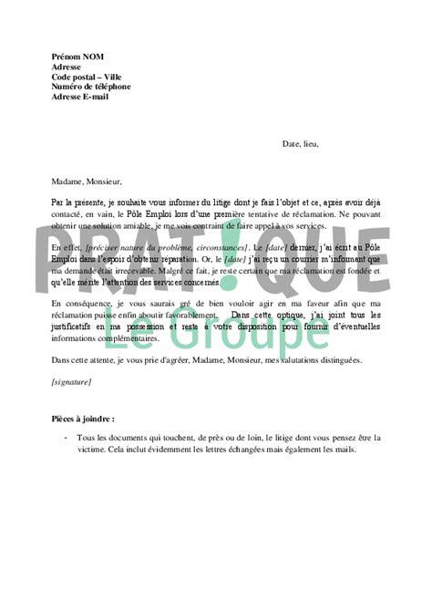 Type De Lettre Pour Un Refus De Visa lettre demande de recours aupr 232 s du m 233 diateur de p 244 le