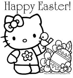 easter pictures to color and print easter colouring