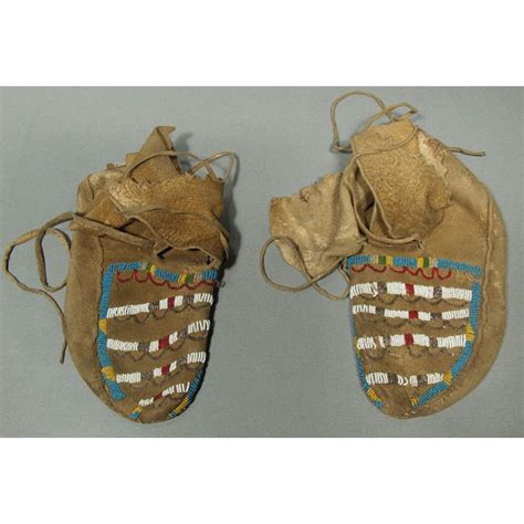 beaded moccasins for sale sold antique american indian beaded moccasins for sale
