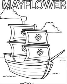 mayflower coloring page great mayflower coloring page 61 for gallery coloring