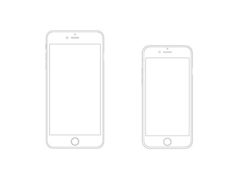 iphone app wireframe template iphone 6 plus and iphone 6 wireframe wireframe iphone 6