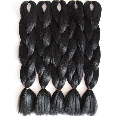 how to antibacterial fiber braiding hair straight full star pure black natural hair green blond yaki