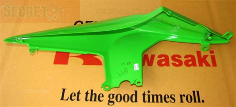 Dudukan Fairing Kawasaki 250r Original Ready Stock kawasaki 250 r 250r oem right fairing green ebay