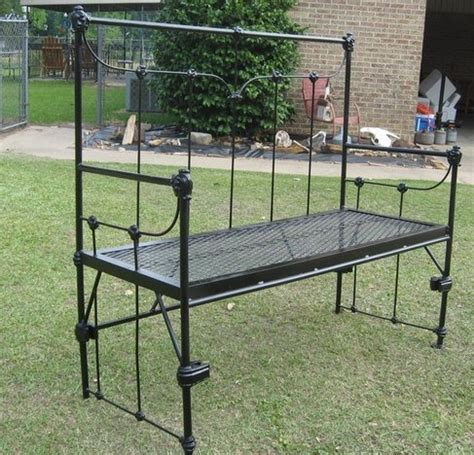 iron bed bench 25 unique bed frame bench ideas on pinterest headboard