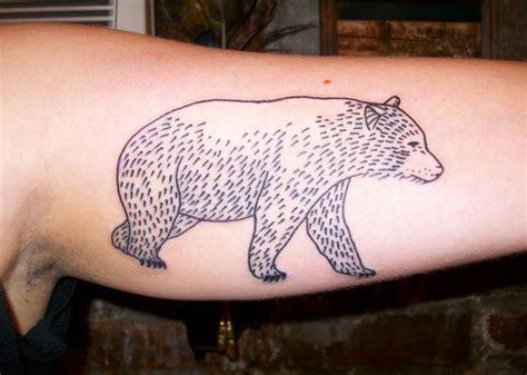 simple bear tattoo simple tattoos tattoos