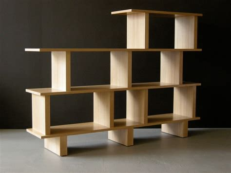 Oak Room Divider Shelves Bookcase Room Divider Oak Modern Bookcases San Francisco By Jason Lees Design
