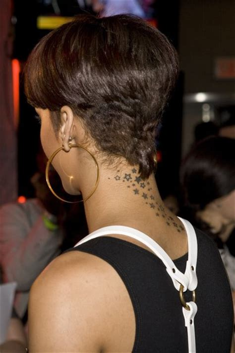 rihanna short hairstyles front and back kgapofem rihanna short hairstyles from back