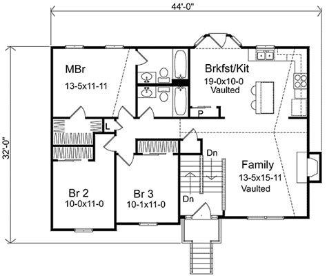split entry floor plans cozy split level home plan 22003sl traditional narrow lot 1st floor master suite cad