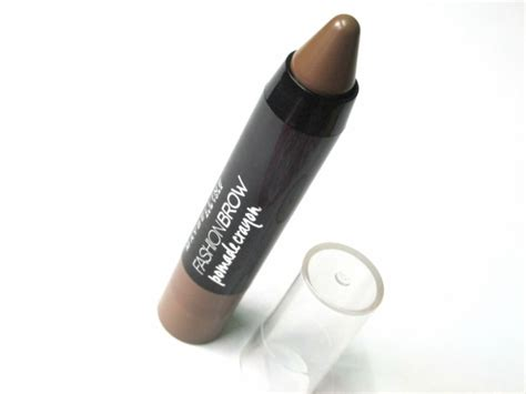 Maybelline Pomade Crayon Review maybelline new york fashion brow pomade crayon brown