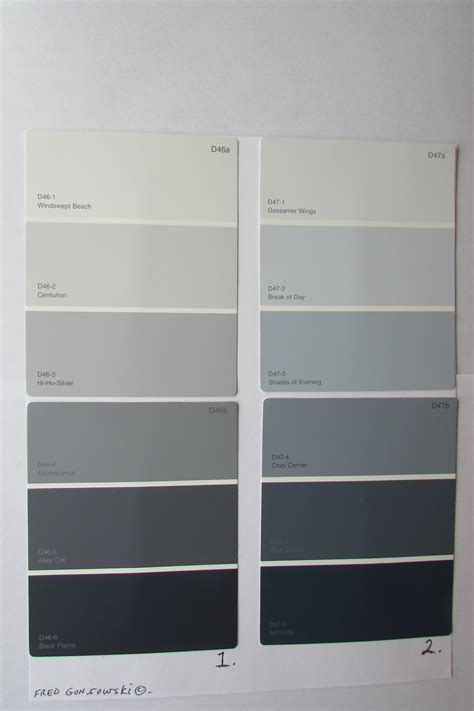 shades of gray colors cool grey paint swatches best 25 gray paint colors ideas