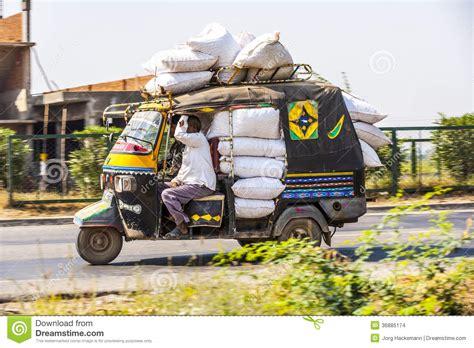 public transport  india crazy editorial stock image