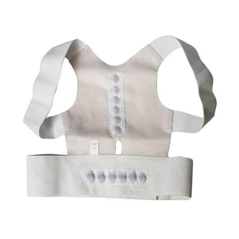 Belt Magnetic Terapi Koreksi Postur Punggung jual power magnetic posture support alat terapi tulang punggung bungkuk m harga