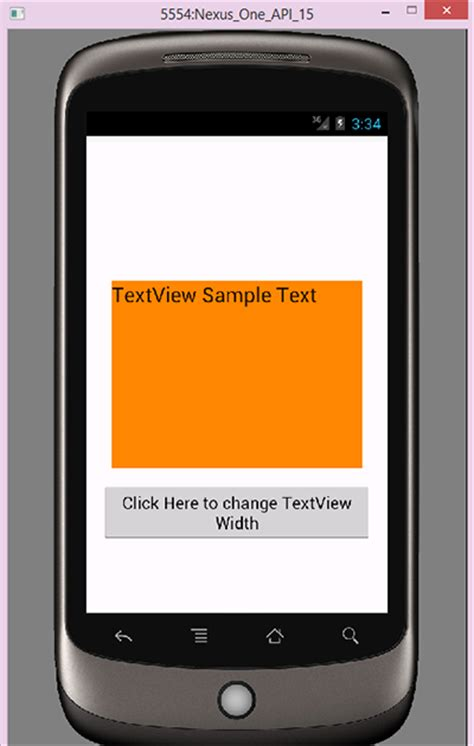 android set layout width and height programmatically android change textview width height programmatically