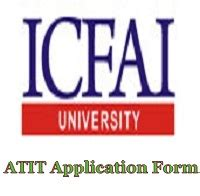 Icfai Mba Results 2017 by Atit Itsat Notification Apply 2018 Eligibility