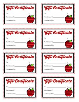 Scholastic Gift Cards For Teachers - blank gift certificate book gift ftempo