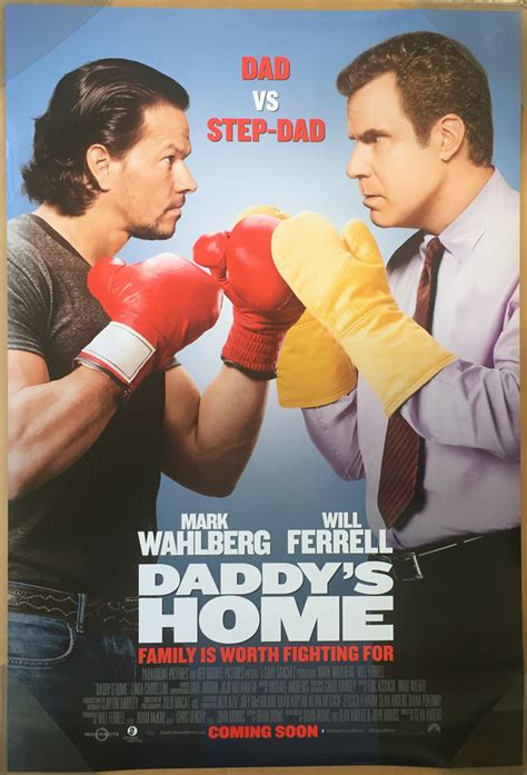 movies playing daddys home 2 by will ferrell and mark wahlberg daddy s home movie poster ds original ver b 27x40 will ferrell mark wahlberg ebay