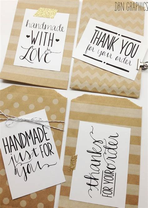 Handmade Ideas For Business - instant labels for handmade sellers handmade