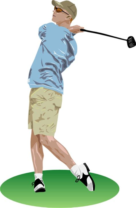 golf swing easy simple golf swing clip art at clker com vector clip art