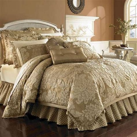 gold bedding contessa gold bedding by j queen new york a luxury