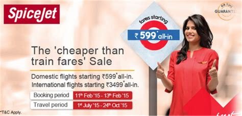 bid for flight tickets spicejet flights rs 599 offer cheaper than fares