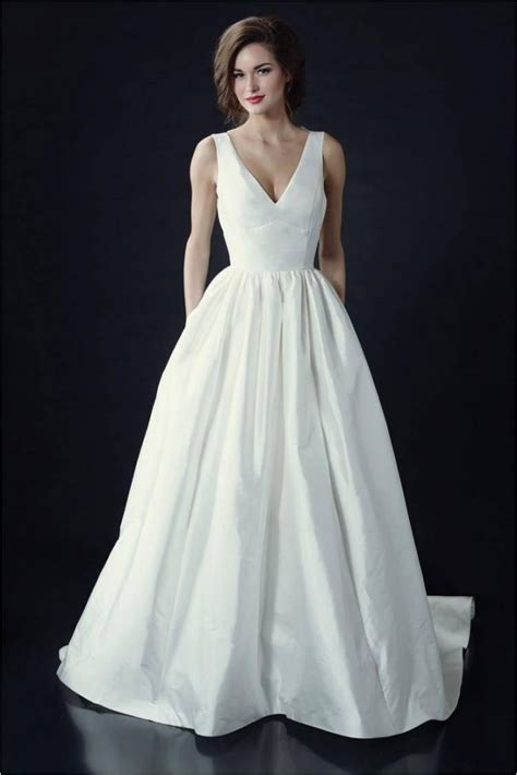 V Neck Wedding Dress by Wedding Hairstyle Inspiration For Wedding Dresses Of 7