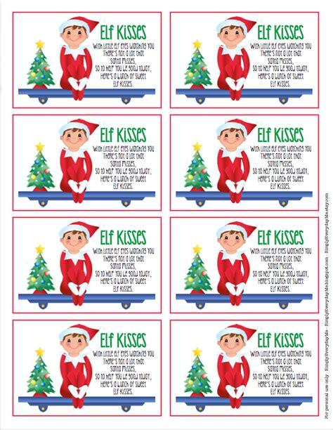 printable elf kisses elf kisses printable tags search results calendar 2015