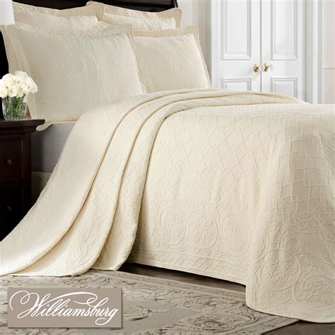 williamsburg comforters richmond matelasse bedspread by williamsburg