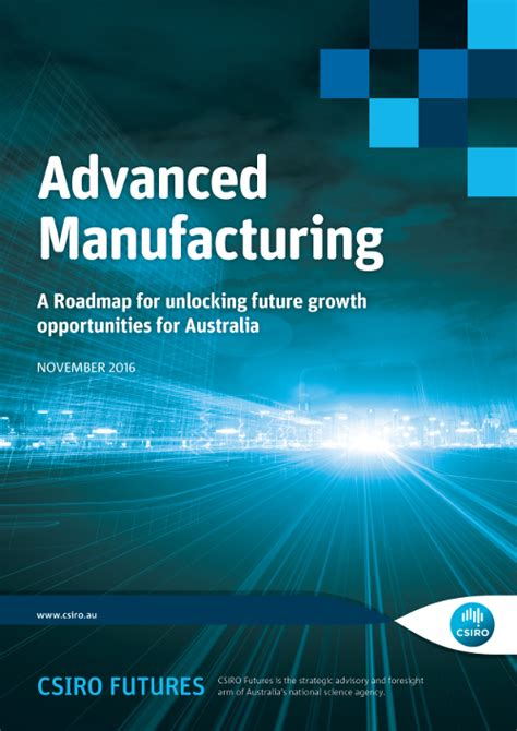 advanced manufacturing roadmap csiro
