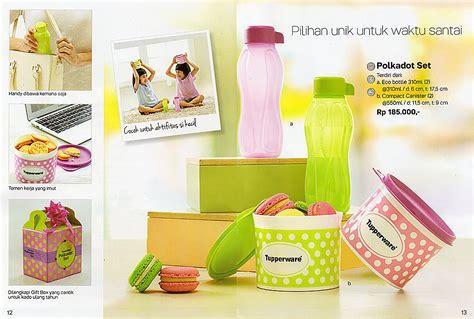 Set Tupperware polkadot set tupperware katalog promo tupperware