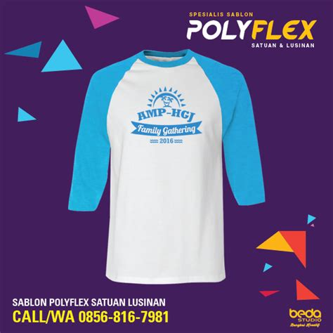 Tshirt Kaos Baju Skrillex 06 Jersey 2 sablon polyflex kaos t shirt raglan jasa sablon polyflex call wa 0856 816 7981