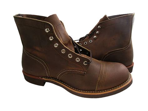iron ranger boots wing heritage 6 inch iron ranger boot copper 08115