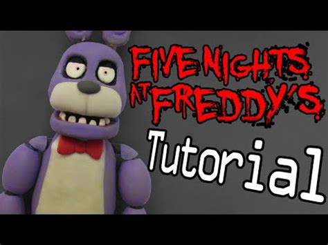 unity tutorial nightmare old bonnie quot tutorial quot porcelana fria polymer clay