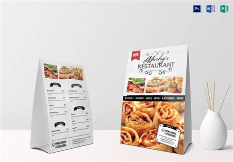 menu tent card template restaurant menu template 53 free psd ai vector eps