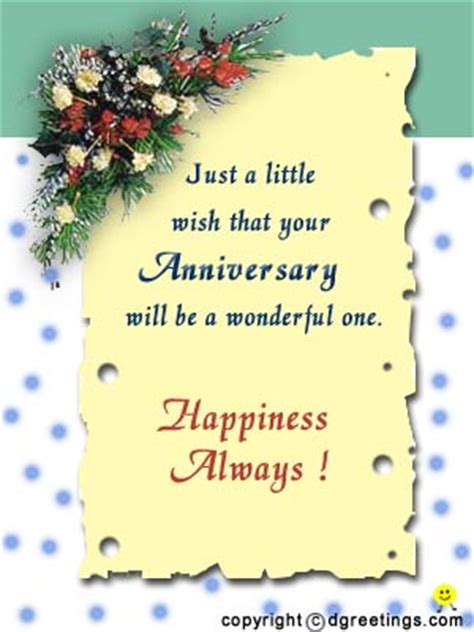 Wedding Anniversary Wishes For Di And Jiju In by Happy Wedding Anniversary Free To A Ecards