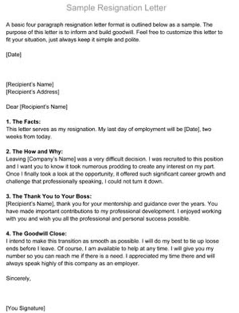Resignation Letter Physical Therapist Resignation Letter Sle Small Business Free Forms