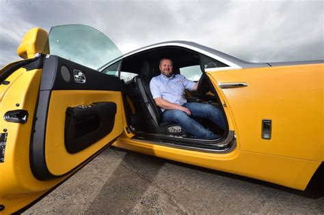 yellow rolls royce wraith rolls royce wraith in billy bowie golden yellow daily record