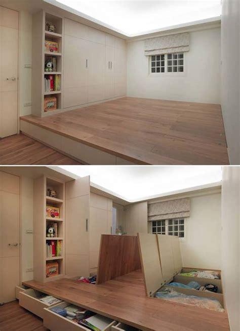 floor storage 20 small space storage ideas